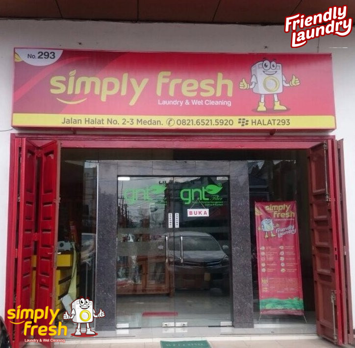 Outlet 293 Simply Fresh Laundry Hadir di Medan