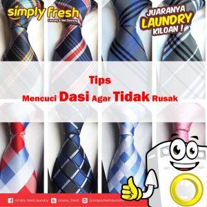 Tips Mencuci Dasi Agar Tidak Rusak