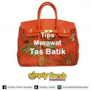 Tips Merawat Tas Batik yang Tepat