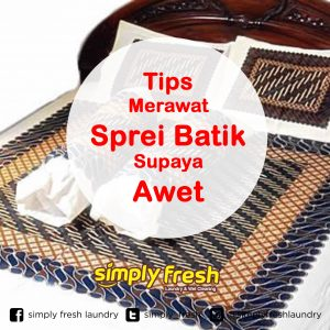Tips Merawat Sprei Batik Supaya Awet