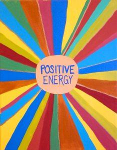 sebarkan energi positive