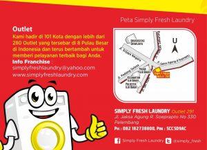 Telah Hadir! Outlet ke-7 Simply Fresh Laundry di Palembang