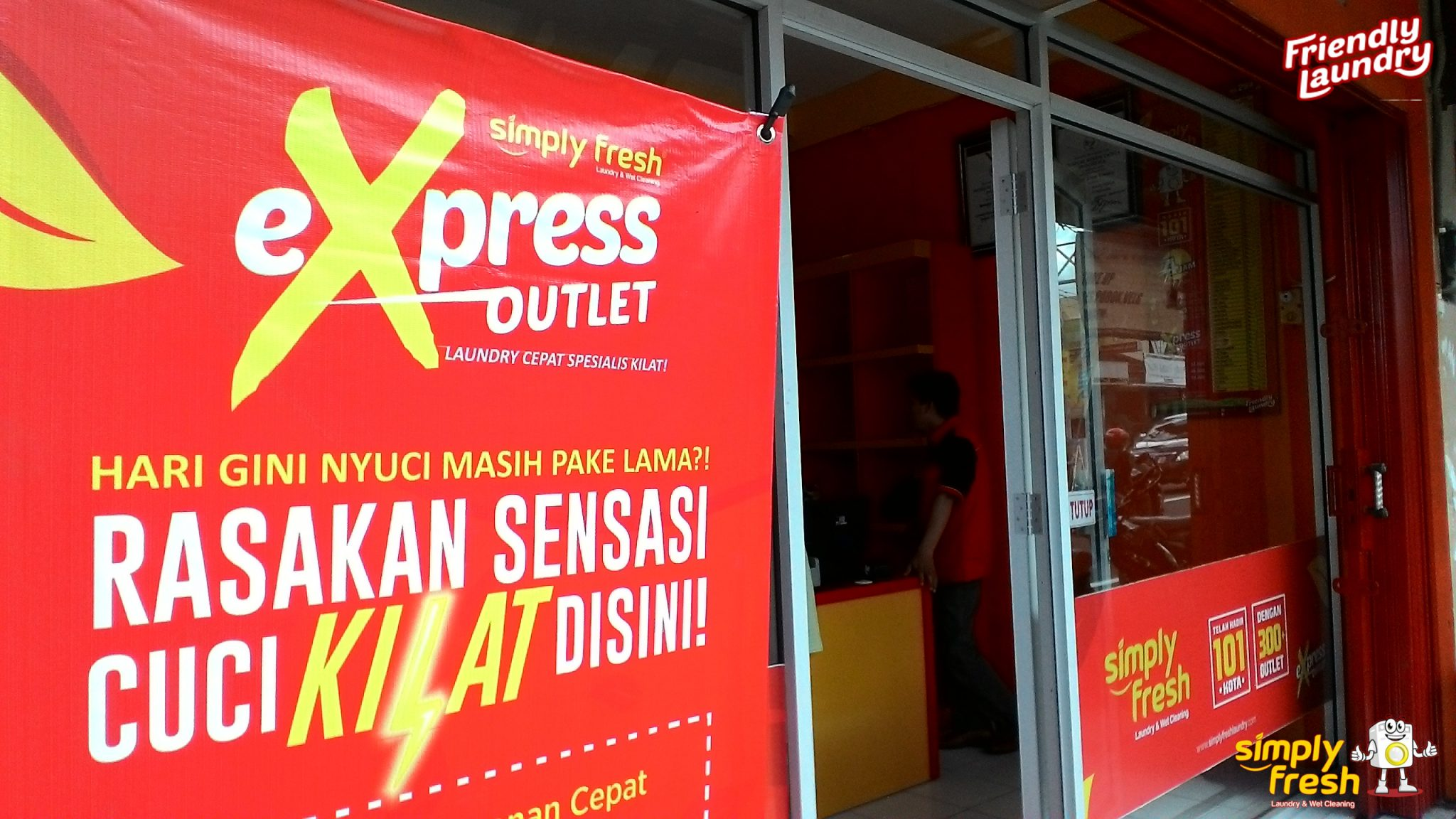 Simply Fresh Laundry Express Outlet 294 Yogyakarta