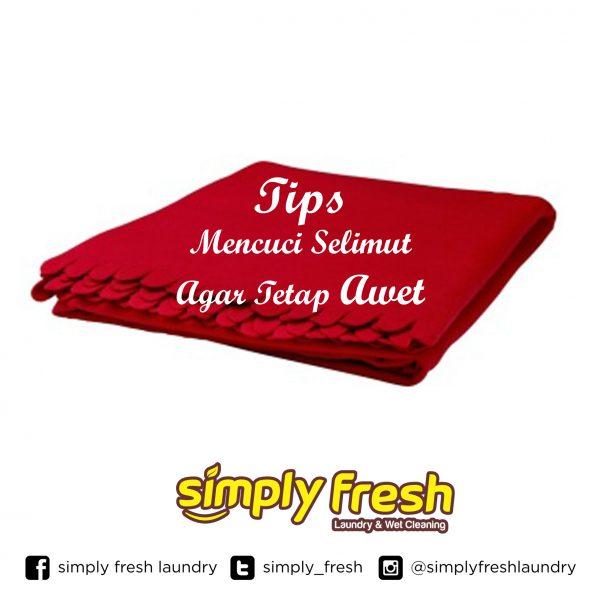 Tips mencuci selimut