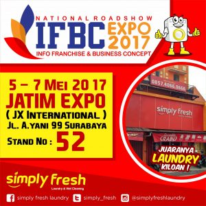Simply Fresh Laundry di National Roadshow IFBC Expo 2017