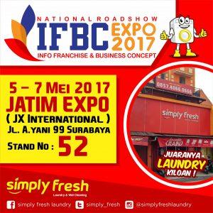Simply Fresh Laundry di National Roadshow IFBC Expo 2017