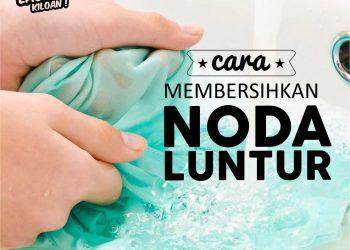 Membersihkan Noda Luntur