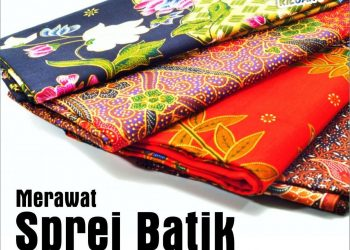 Merawat Sprei Batik