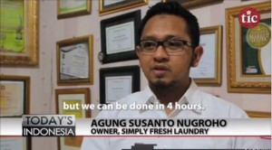 Liputan The Indonesia Channel di Simply Fresh Laundry 4