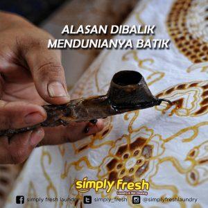 Alasan Dibalik Mendunianya Batik