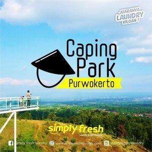 Liburan di Caping Park Purwokerto