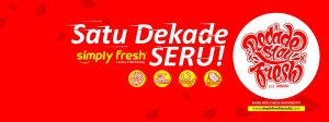 EVENT SERU BAZAR 10Th Simply Fresh Laundry!
