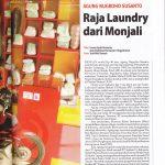 Franchise Laundry Liputan Majalah Resizegatra