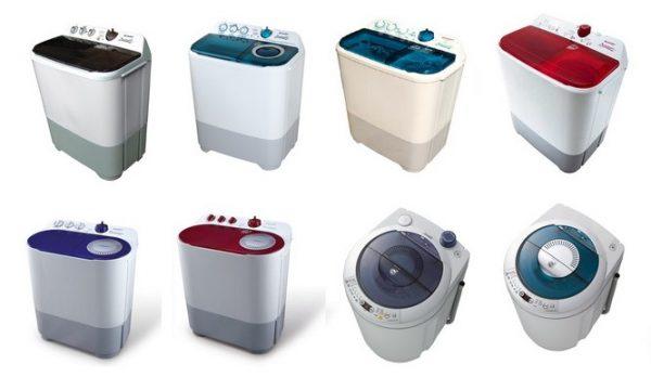 jenis mesin cuci