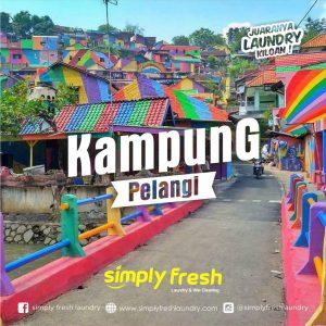 Pesona Kampung Pelangi di Semarang