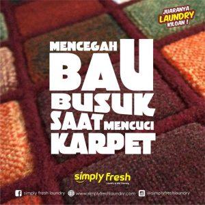Mencegah Bau Busuk Saat Mencuci Karpet