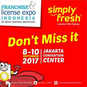 Simply Fresh Turut Serta Ramaikan FLEI 2017 di Jakarta