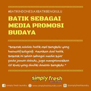 Batik Sebagai Media Promosi Budaya