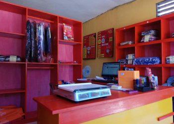 interior usaha laundry