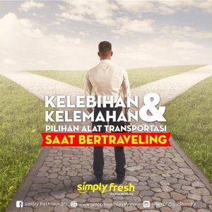 Beberapa Kelebihan dan Kekurangan Alat Transportasi di Indonesia