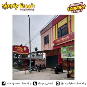 Simply Fresh Laundry Kiloan Outlet Franchise 330 Bangkinang