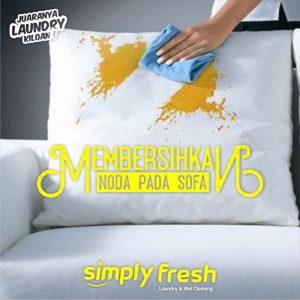 Langkah-Langkah Membersihkan Noda Pada Sofa