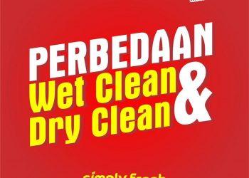 perbedaan wet clean dan dry clean
