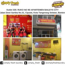 Simply Fresh Laundry Outlet 335 Tangerang Selatan