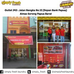 Simply Fresh Laundry Aimas Outlet 343 Sorong, Papua Barat