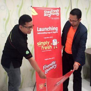 rebranding simply fresh laundry