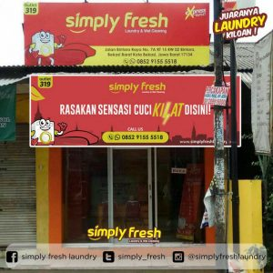 Simply Fresh Laundry Outlet 319 Bekasi