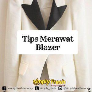 Cara Merawat Baju Blazer